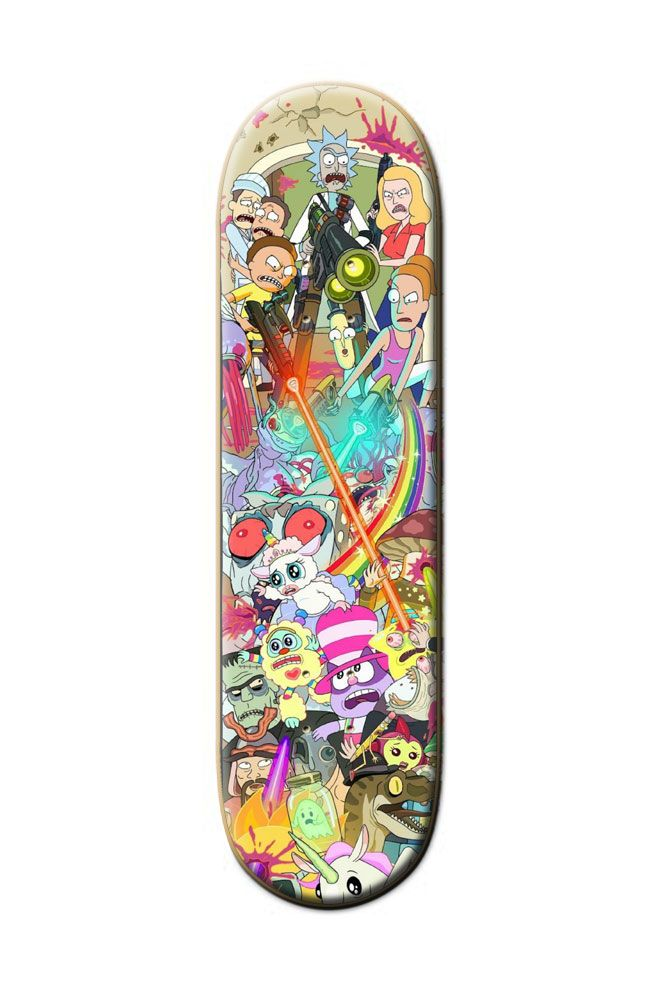 Make your own custom skateboard ; street deck! Add pictures, text and more to make a board that is uniquely you. Discover the Rick and Morty Custom Skateboard