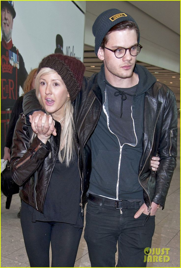 omg cutest couple-- jeremy irvine and ellie goulding  good job ellie!