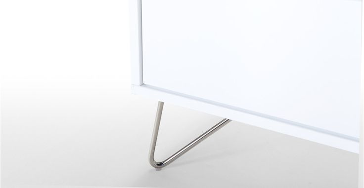 Elona Wardrobe, White Gloss | made.com