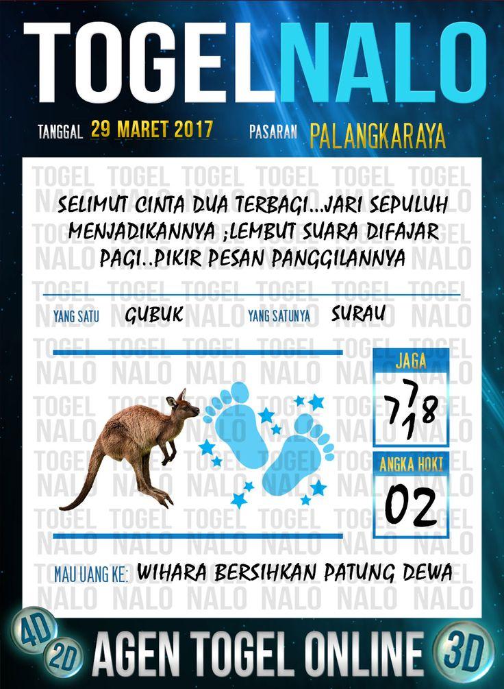 Kode Jitu 6D Togel Wap Online TogelNalo Palangkaraya 29 Maret 2017