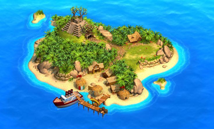 The new island