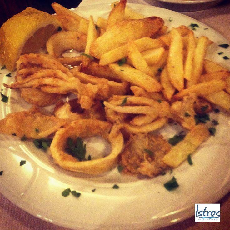 Istros Kalamari  - #greek #cuisine #kalamari #fish