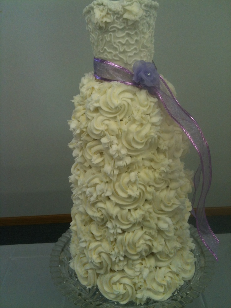 My daughters bridal shower cake made out