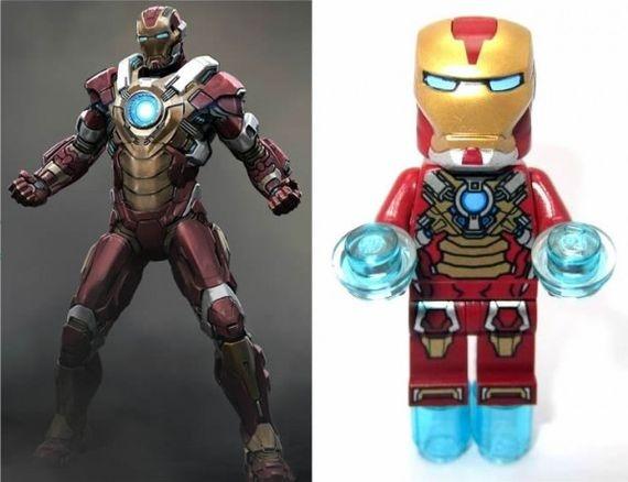 LEGO Iron Man 3 Heartbreaker Minifigure | Fantasy | Pinterest