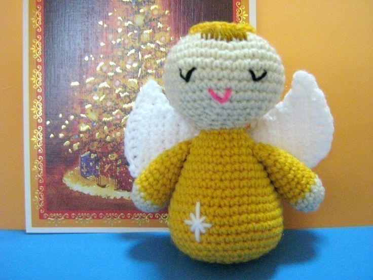 Free Crochet Angel Doll Pattern : Angel Crochet Pattern Amigurumi Doll Crochet Pattern PDF ...