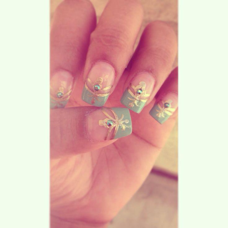 Princess Jasmine Nails: Princess Jasmine Nails #disney #nails