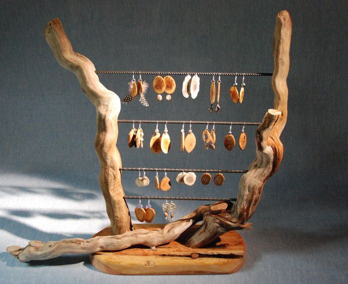 wooden jewellery display stands - Google Search