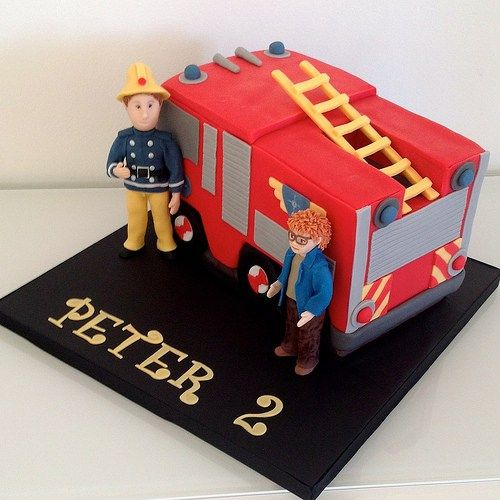 Make Easy Fireman Sam Cake