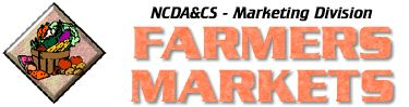 North Carolina State Farmers markets' page