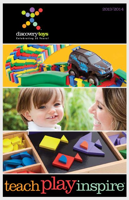 Wrap and learn discovery toys catalog