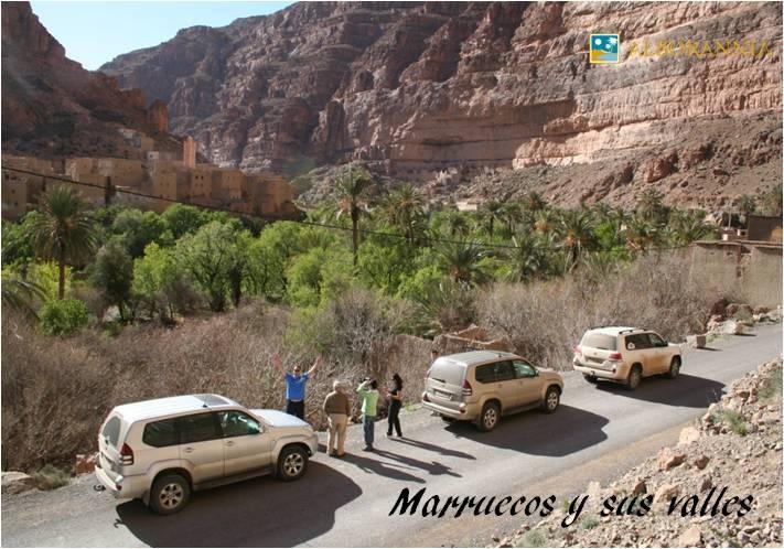 Las Grandes Dunas de Merzouga. Profundos valles surcan Marruecos
