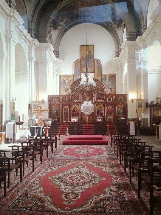 Church of sv Cyril and Metodej Prague
