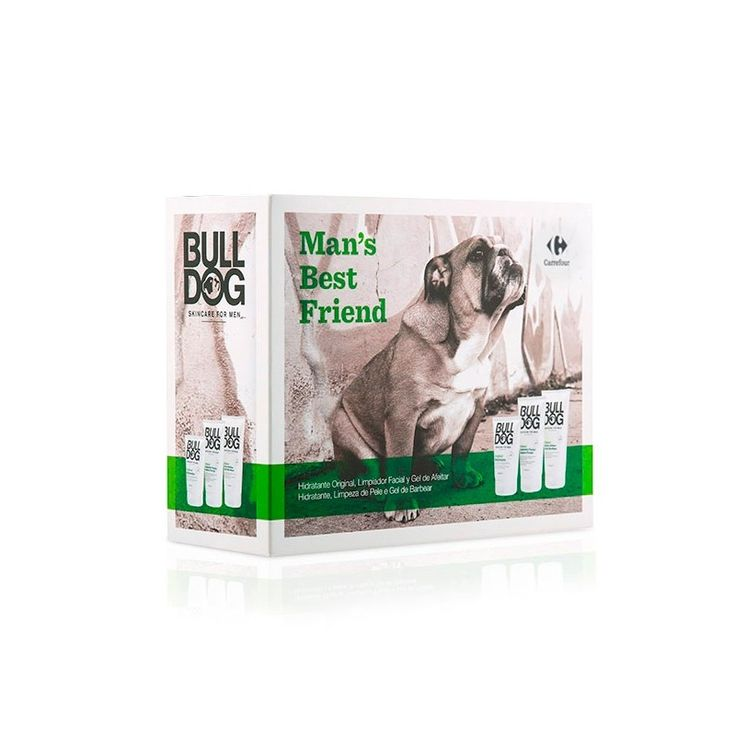 Coffret soins de beauté homme Bull Dog