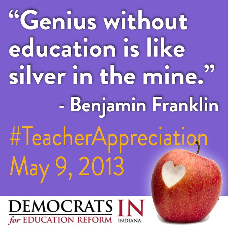 genius without education is like silver in the mine essay Genius without education is like silver in the mine - benjamin franklin thank you for taking the time to learn about gifted education in bsd7 whether you're new.