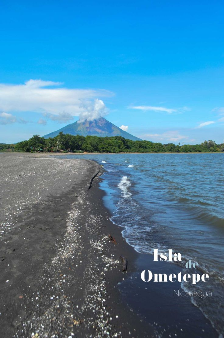 Punta Jesús María on Isla de Ometepe in Nicaragua. See what else you could be doing and seeing on this volcanic island | heneedsfood.com