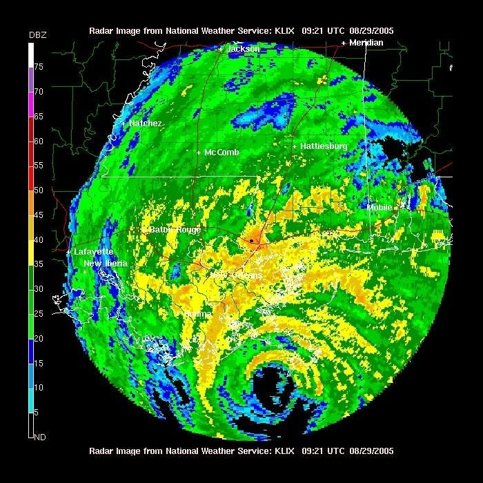 """Old Weather Pictures Twitter"""" Hurricane Katrina from New"""