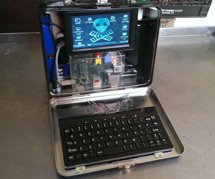 This is a quick and easy project to build a portable Raspberry Pi computer that fits right in a lunch box. It's a good first Pi project since it requires ...