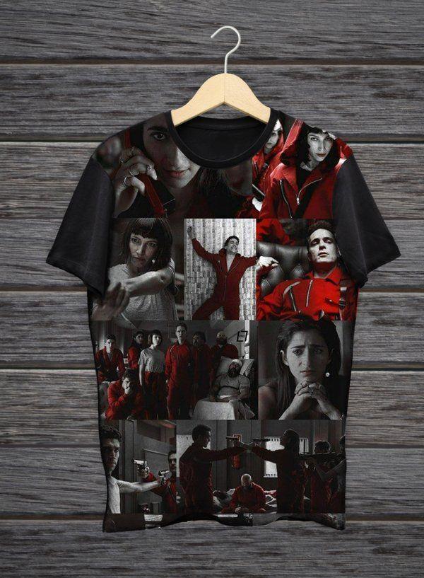 0379761a59 camiseta la casa de papel - Kingdom Store