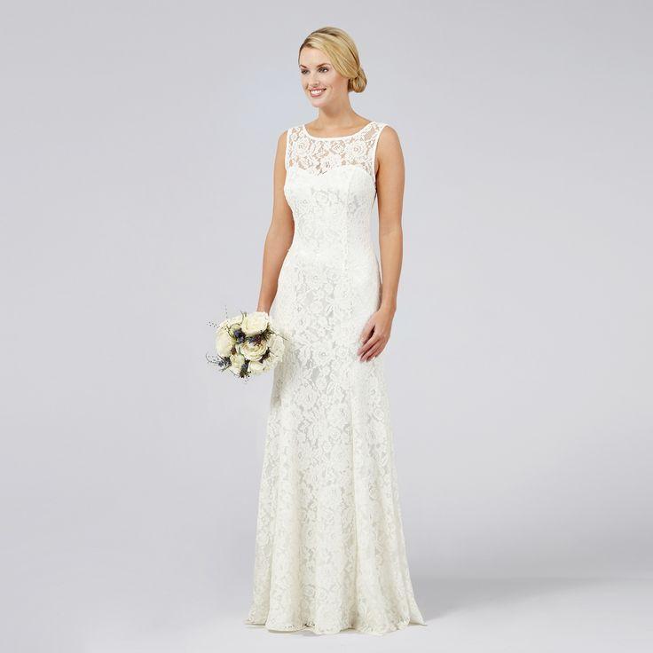 8 best Wedding Dresses images on Pinterest | Debenhams, Short ...