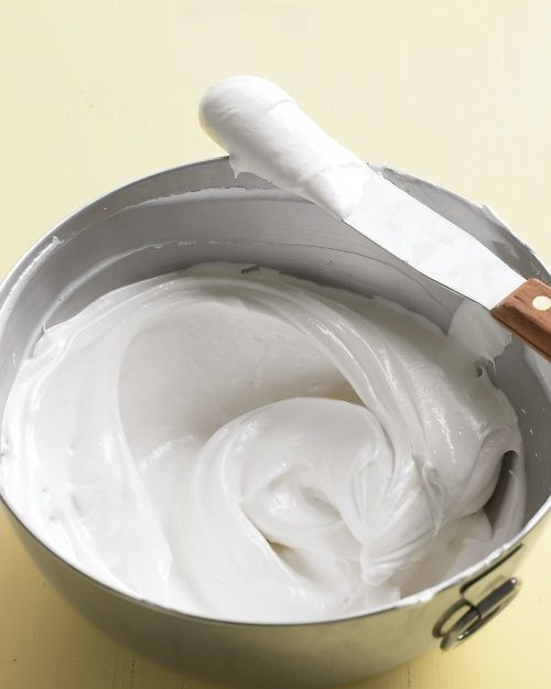 Whipped Frosting - Martha Stewart Recipes - Add 2 tsp of lemon juice in place of the vanilla for lemon frosting