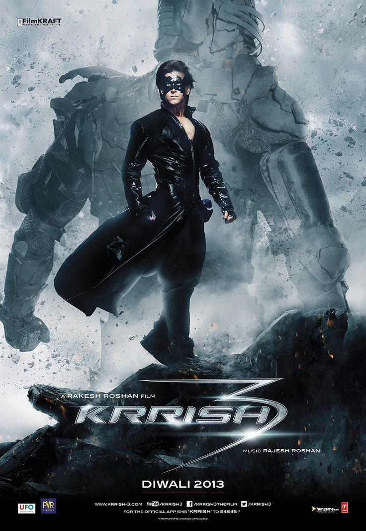 Krrish 3 Movie Poster Design - StudioFlicks