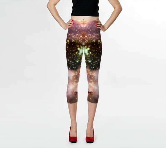Galaxy Leggings! Made with REAL galaxy! more @ www.freshlegs.me #freshlegs #galaxyleggings by Douglas Fresh