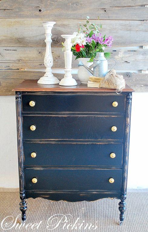 Dresser Details Pinterest Navy Dresser Dresser And Black Distressed Dresser