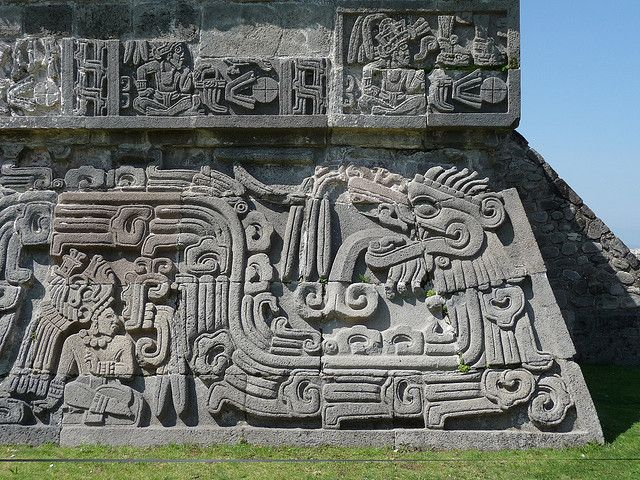 世界遺産 ソチカルコの古代遺跡地帯の画像 ソチカルコの古代遺跡地帯の絶景写真画像  メキシコ