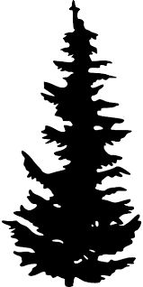 xmas+trees black white clipart - Google 搜尋