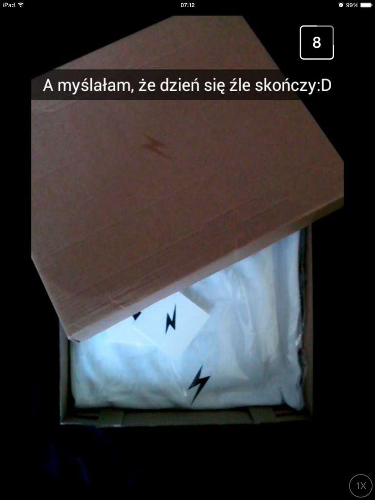 Happy!   #happiness #cleant #delivery #box #polska #poland #madeinpolska #air #kurier