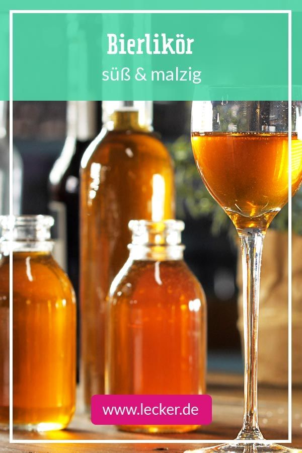 Bierlikor Selber Machen So Geht S Lecker Geschenke Aus Der Kuche Limoncello Rezept Bier Rezepte