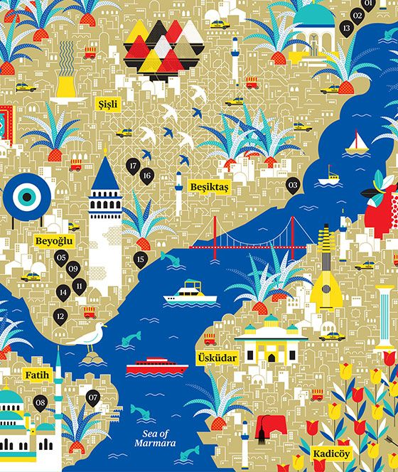 Mapping by La Tigre Milano