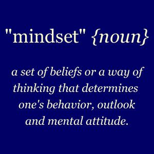 mindset-almost an action plan for embedding practice.