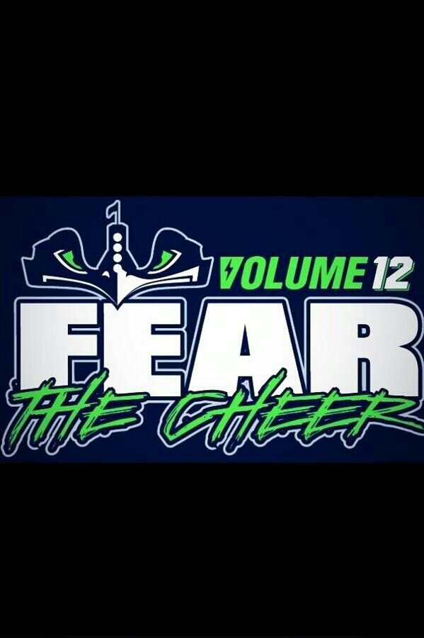 Volume 12! Seahawks Rule!