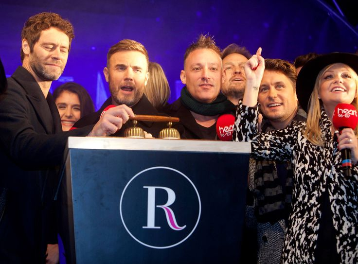 The countdown to the switch on begins with Take That and Heart 106.2's presenters at #RegentStreet #Christmas Lights.