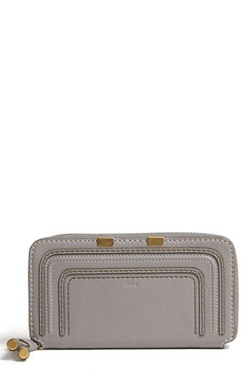 Chloé+'Marcie+-+Long'+Zip+Around+Wallet+available+at+#Nordstrom
