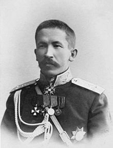 Lavr Georgiyevich Kornilov (1870 – 1918) was a military intelligence officer, explorer, and general in the Imperial Russian Army during World War I and the ensuing Russian Civil War.