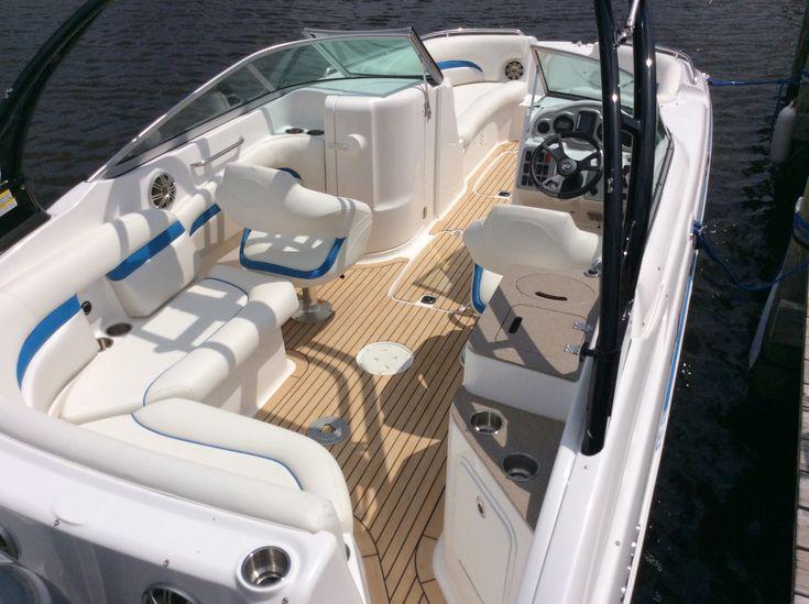 Dek-King on a Hurricane deck boat