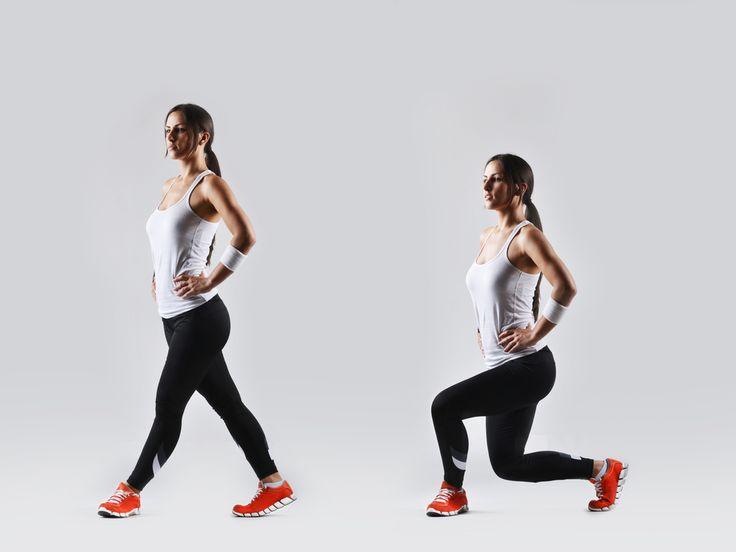 Cvik pre krásne stehná a zadok! Ako správne cvičiť výpady?