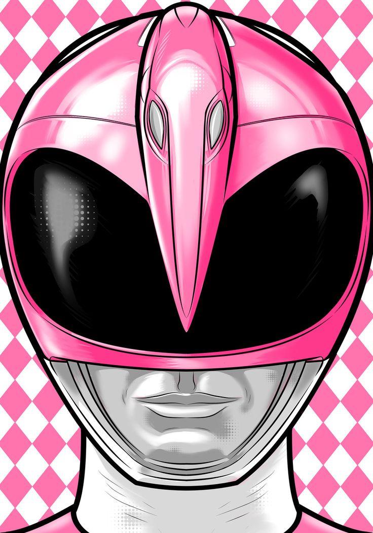Pink Ranger by Thuddleston.deviantart.com on @deviantART