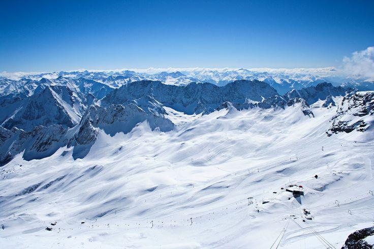 Fascination of the Zugspitze. http://b-schaffer.blogspot.de/2017/04/die-faszination-einer-deutsch.html