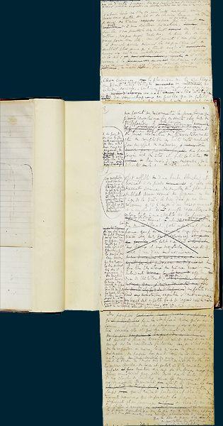 Le Temps retrouvé de Marcel Proust  Manuscrit autographe,   BnF, Manuscrits,