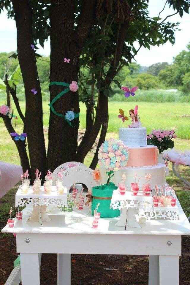 Decoração, aniversário infantil, menina, fadas, borboletas