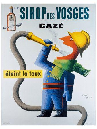 Jean Carlu, Sirop des Vosges