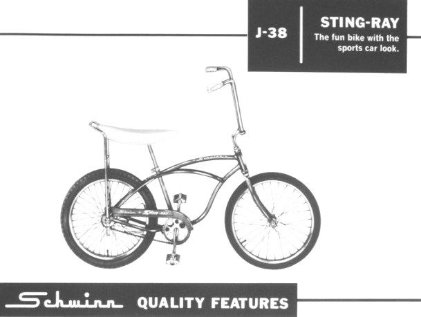 Schwinn Stingray Parts Catalog : Schwinn stingray bicycles styles parts pinterest