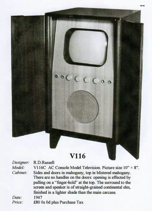 Old 50's TV