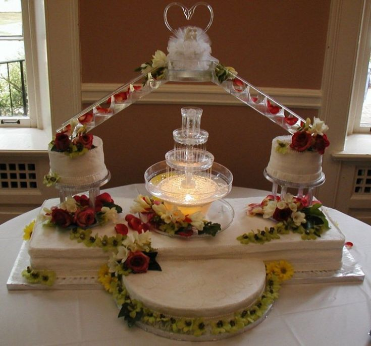 wilton hochzeitstorten wilton hochzeitstorten mit brunnen tortas pinterest weddin …   – Wedding Cakes