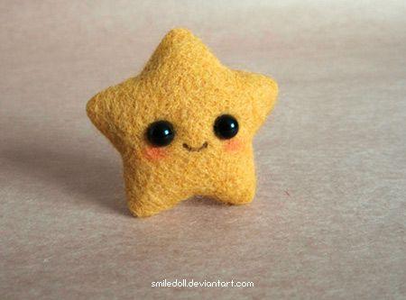una adorable estrella kawai