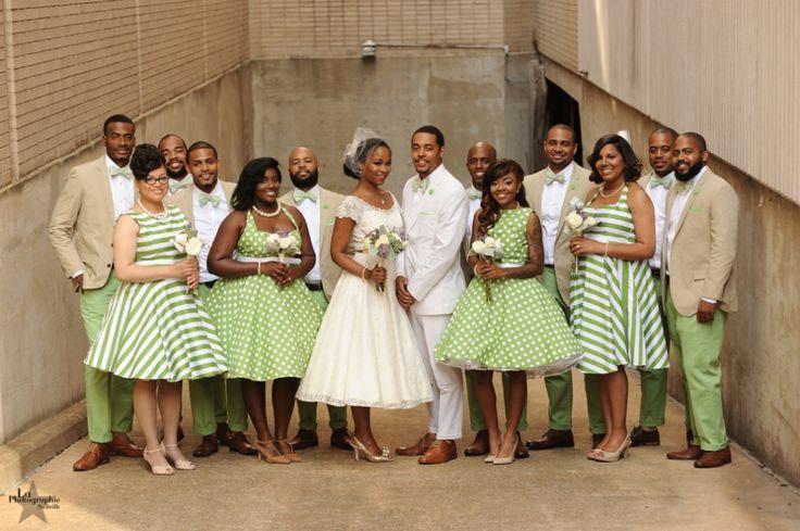 Chic wedding party reggie angel s downtown nashville for Nashville wedding dress shops