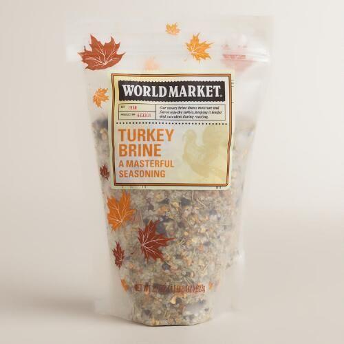turkey brine turkey brine world market thanksgiving holiday holiday ...